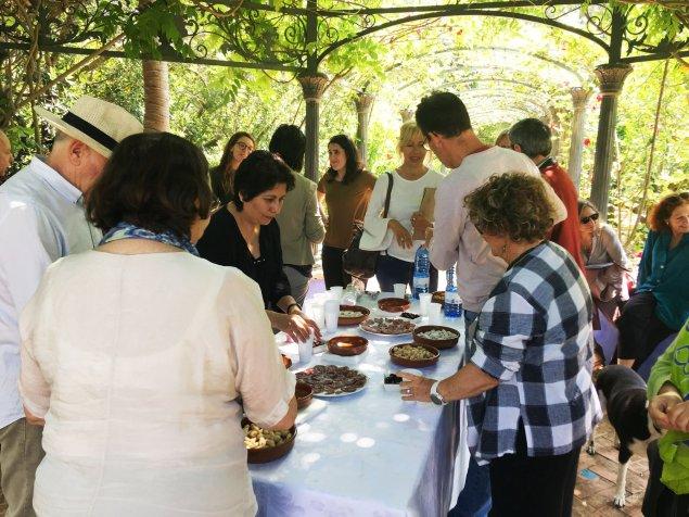 Taller y Certamen de Relatos Cortos Taller Paréntesis en Jardín de l'Albarda El Cambio Maria Teresa Gavila